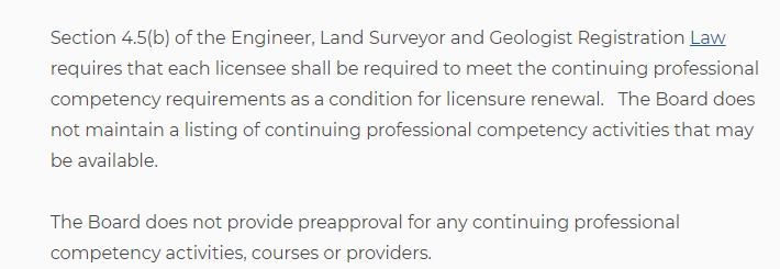 Pennsylvania State License Renewal Requirements